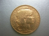 20 франков 1908 год Франция, фото №2