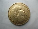 20 франков 1855 год Франция, фото №2