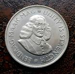 50 центов ЮАР Южная Африка 1961 состояние серебро, фото №2