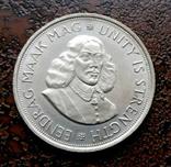 50 центов ЮАР Южная Африка 1961 состояние серебро, фото №4