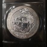 Руанда Морская Унция 2019 год. серебро 999, фото №2