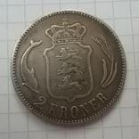Дания 2 кроны, 1875, фото №5