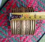 Браслет латунь этно, фото №12