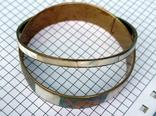 Браслет перламутр, 7 см. диаметр. 2 шт., фото №7