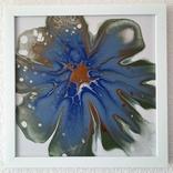 Картина/ живопис/ абстракція Fluid Art #78 acrylic, фото №2