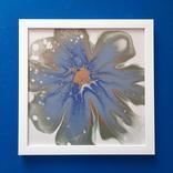 Картина/ живопис/ абстракція Fluid Art #78 acrylic, фото №3