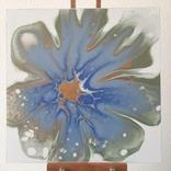 Картина/ живопис/ абстракція Fluid Art #78 acrylic, фото №4