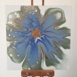 Картина/ живопис/ абстракція Fluid Art #78 acrylic, фото №7