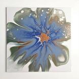 Картина/ живопис/ абстракція Fluid Art #78 acrylic, фото №11