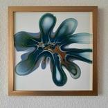 Картина/ живопис/ абстракція Fluid Art #83 acrylic, фото №2