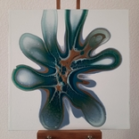 Картина/ живопис/ абстракція Fluid Art #83 acrylic, фото №3