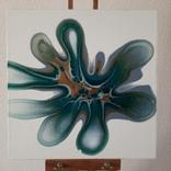 Картина/ живопис/ абстракція Fluid Art #83 acrylic, фото №4
