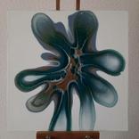 Картина/ живопис/ абстракція Fluid Art #83 acrylic, фото №5