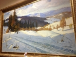 Зима в Карпатах 1954 год Народный художник УССР Кашшай Антон Михайлович (1921 - 1991), фото №5
