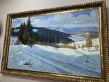 Зима в Карпатах 1954 год Народный художник УССР Кашшай Антон Михайлович (1921 - 1991), фото №2