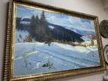 Зима в Карпатах 1954 год Народный художник УССР Кашшай Антон Михайлович (1921 - 1991), фото №12