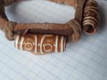 Кожаный браслет универсального размера, фото №4