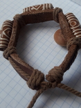 Кожаный браслет универсального размера, фото №6