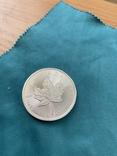Канада 5 долларов 2020 унция серебро 999, фото №5