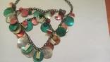 Ожерелье и серьги из перламутра, фото №2