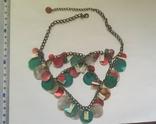Ожерелье и серьги из перламутра, фото №3