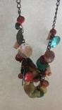 Ожерелье и серьги из перламутра, фото №4