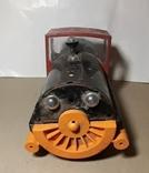 Железный Паровоз длина 27 см. СССР на реставрацию или запчасти, фото №4