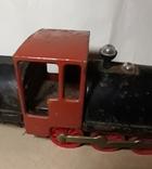 Железный Паровоз длина 27 см. СССР на реставрацию или запчасти, фото №6
