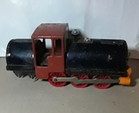 Железный Паровоз длина 27 см. СССР на реставрацию или запчасти, фото №7