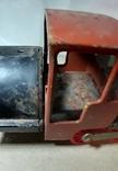 Железный Паровоз длина 27 см. СССР на реставрацию или запчасти, фото №11