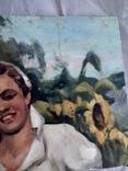 Картина хлопець з дівчиною., фото №4