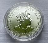 1-я монета в серии Красноспинный паук Австралия лот 2, фото №10