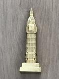 Настольный сувенир Биг Бен. Лондон, 10,5см т/м б/у, фото №3