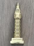 Настольный сувенир Биг Бен. Лондон, 10,5см т/м б/у, фото №4