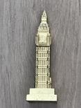 Настольный сувенир Биг Бен. Лондон, 10,5см т/м б/у, фото №5