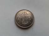 Канада 50 центов 1955 / серебро, фото №2