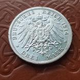 3 марки 1914 Пруссия мундир, фото №5