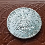 3 марки 1914 Пруссия мундир, фото №6