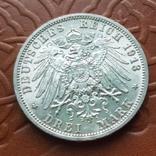 3 марки 1913 Пруссія Пруссия, фото №4