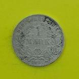 1 Марка 1891р. Срібло., фото №2