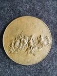 Настольная медаль Владислав Ягайло 1386-1434, Грюнвальд 1410г., фото №3