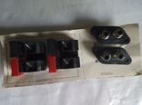 Новый комплект разъемов, RCA и для акустического кабеля! СССР, фото №5