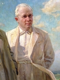 Ранний соцреализм СССР Вожди 1939 год, Заслуженный деятель искусств УССР, фото №5