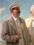 Ранний соцреализм СССР Вожди 1939 год, Заслуженный деятель искусств УССР, фото №6