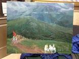 Картина большая По долинам и по взгорьям 1981 год, Шелепков Геннадий Андреевич (1940), фото №2