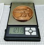 Настольная медаль. 25 лет Ереванскому электроаппаратному заводу, фото №7
