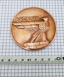 Настольная медаль. 25 лет Ереванскому электроаппаратному заводу, фото №8