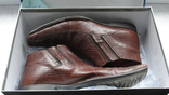 Мужские полуботинки из натуральной кожи, фото №2