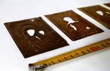 Оклады (7,9 см х 10 см) под реставрацию, фото №7