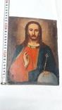 Икона Иисуса Хреста. ( дерево)3, фото №12